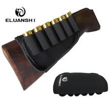 Kalınlaşma kaymasını önlemek elastik Buttstock 12 ölçer cephane kılıfı kılıf tutucu avcılık çanta kılıfları silah aksesuarları naylon molle