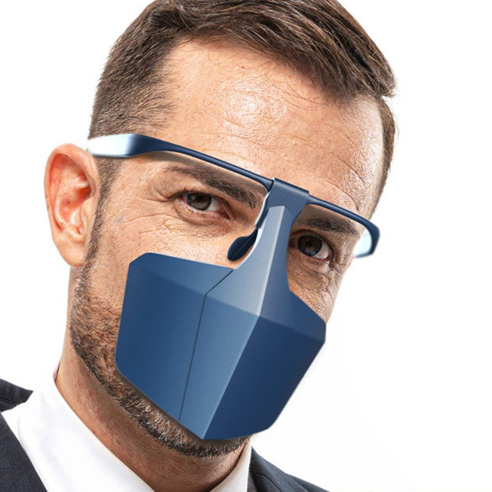 Reusable Face-Shielding Protective Face Mask Anti-Fog Anti-Splash Anti-Fog Dust Isolating Face Shield Protective Equipment