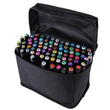 30 Colors Creative Double-head Colored Oily Marker Pen Set Anime Painting Set Fashion Graffiti Drawing Pens Sets
