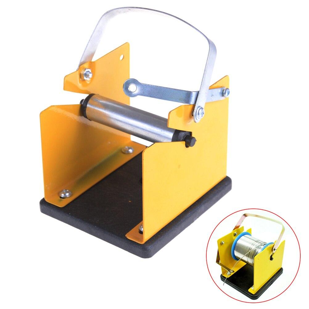 Adjustable Solder Reel Dispenser Stand Tin Management Spool Feeder Electric Welding Tool Metal Solder Wire Holder Support
