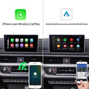Image 2 - LoadKey אלחוטי Carplay מפענח עבור אאודי A4 A5 S5 Q5 ללא MMI 09 18 רכב מולטימדיה לרכב לשחק אפל Carplay/אנדרואיד אוטומטי Airplay