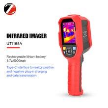 UNI T de cámara térmica infrarroja, medidor de temperatura térmico digital, UTI165A UTI165K UTI165H