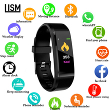 New Smart Watch Men Women Heart Rate Monitor Blood Pressure Fitness Tracker Smartwatch Sport Watch for IOS Android Fashion Watch все цены