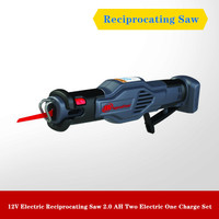 12V Electric Reciprocating Saw 2.0 AH Two Electric One Charge Set