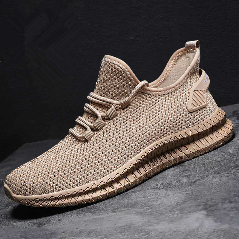 Men Shoes Sneakers Breathable Men Casual Shoes No-slip 2020 Male Air Mesh Lace Up Men Shoes Tenis Masculino Size 39-44