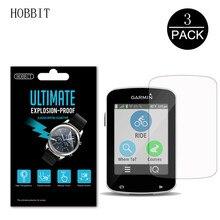 Protecteur d'écran Ultra-mince HD clair, 3 pièces, 0.15mm, pas du verre, pour Garmin Edge 820 520 E820 E520 GPS Nano, Film PET Anti-choc
