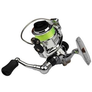 Image 5 - Emmbar Mini100 صنارة صيد الأسماك 2 + 1BB 4.3: 1 صنارة معدنية لصيد الأسماك صنارة صيد الأسماك بكرة دوارة صغيرة