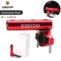 Zsdtrp expansão da motocicleta rack guidão espelho adaptador de montagem luz expansão suporte do telefone suporte fixo suporte da lâmpada