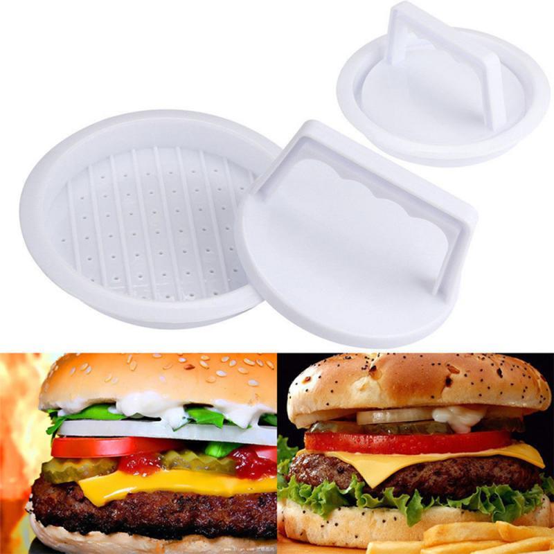 Burger en plastique de qualité alimentaire multifonctionnel broyeur de viande Burger presse Patty Maker moule outil de cuisine