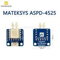 Matek System Mateksys 4525 analógico Sensor de velocidad aerodinámica ASPD-4525 para RC Dron de carreras con visión en primera persona de F405 F722 F411 ala