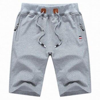 Pantalones cortos de hombre pantalones cortos de verano de los hombres de moda Bermudas respirables hombre Shorts casuales hombres corto Pantalones cortos de playa tamaño asiático 4XL