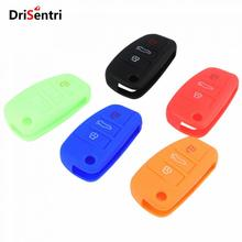 Car Silicone Key Case Cover For Audi A1 A3 Q3 Q7 R8 A6L New Arrival