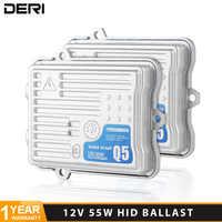 Q5 55W AC 12V Fast Bright HID Ignition Block Quick Start Slim Xenon Ballast for Car Headlight Xenon Conversion Kit