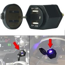 Chargeur double USB, adaptateur d'alimentation, prise allume-cigare pour moto BMW R1200GS Adv LC F850GS R1250GS pour Triumph Tiger 800