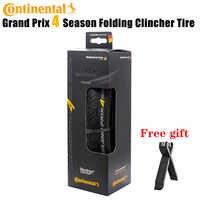 Continental Grand Prix 4 saisons édition spéciale noir 700x25MM pneu de route pneu pliant/boîte