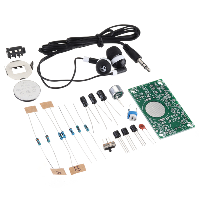 DIY Hearing Aid Electronic Kit 3V Amplifier Set Audio Amplification Practice Teaching Competition Electronic DIY Interest Making