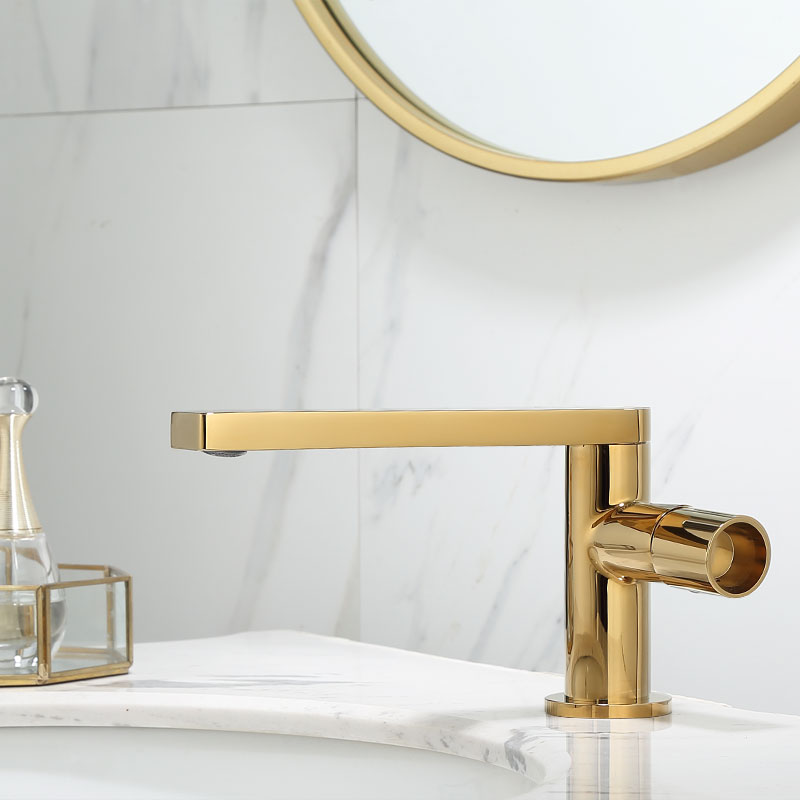 Basin Faucet Gold Bathroom Faucet Single handle Basin Mixer Tap Hot and Cold Water Faucet Brass Basin Faucet Gold Bathroom Faucet Single handle Basin Mixer Tap Hot and Cold Water Faucet Brass Sink Water Crane New Arrivals