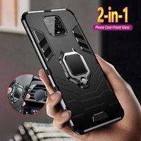 Caso armatura Per Xiaom Redmi Nota 9 9s 8 7 6 5 4 4X Pro Max 8T 8A 7A K30 K20 Pro Zoom Prova di Scossa Del Telefono Copertura Del Telefono Ibrido Coque