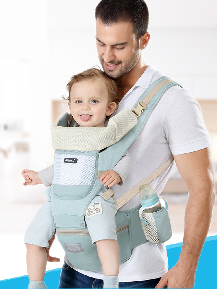 Baby Carrier Pouch Backpack Hipseat Waist-Stool Front-Facing Kangaroo Newborn Wrap Cotton