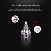 Nose Trimmer Clipper Shaver Ear Trimmer Hair Remover Men AA Battery Shaving Trimmer For Nose Ear Trimer Cutting Machine 23 3