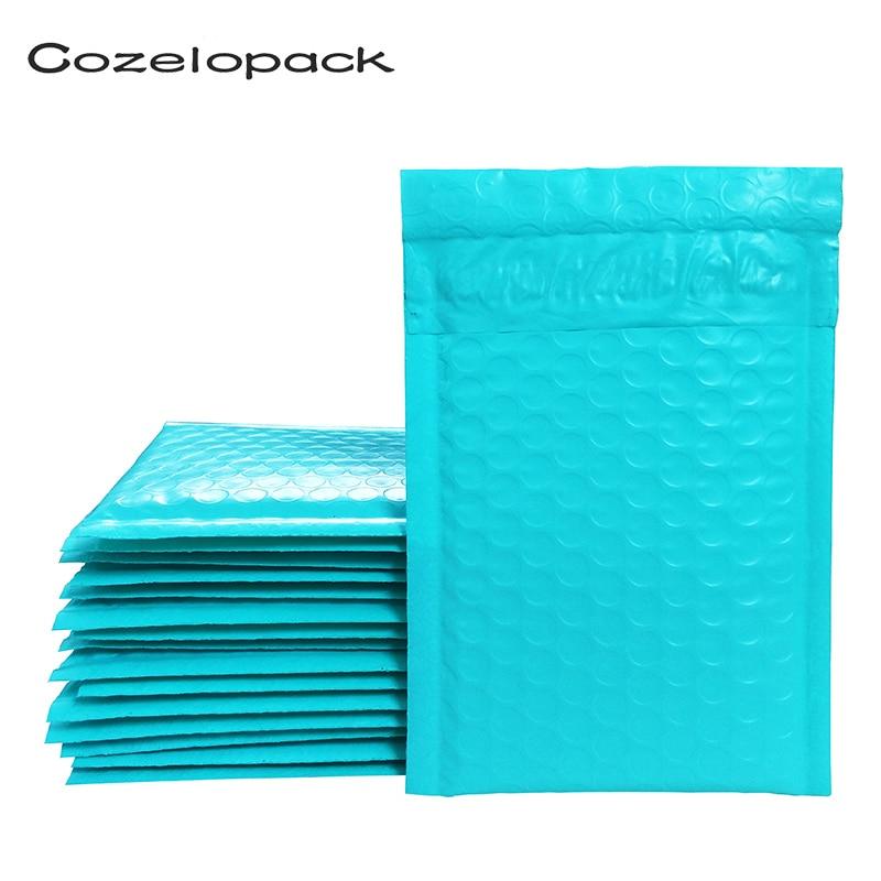 3sizes Teal Poly Bubble Mailer Padded Envelopes Self Seal Mailing Bag Bubble Envelope Shipping Envelopes Postal Bag