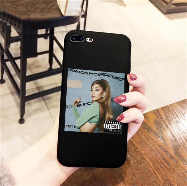 ARIANA GRANDE THEMED IPHONE CASE (18 VARIAN)