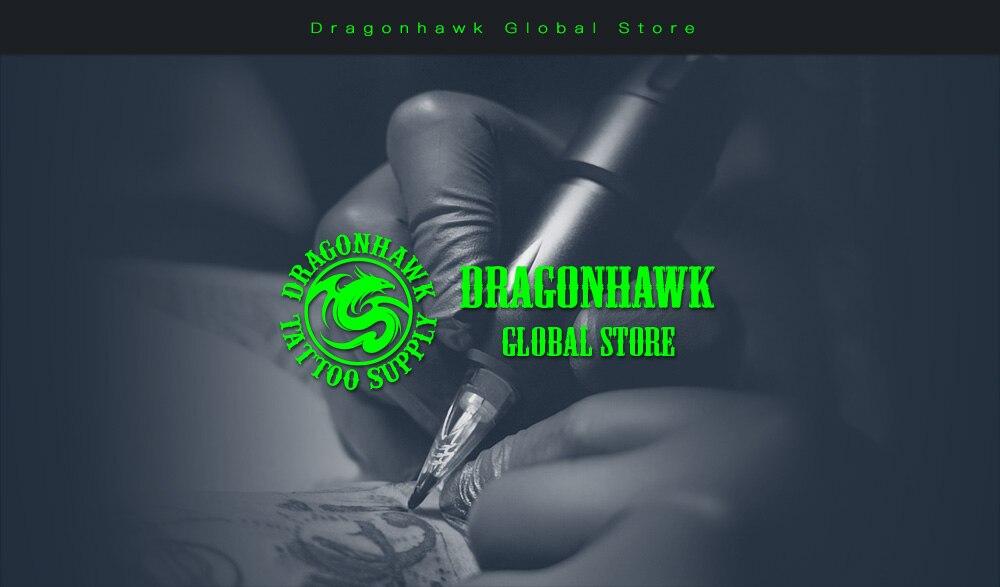 Dragonhawk tatuagem profissional caneta rotativa kit máquina