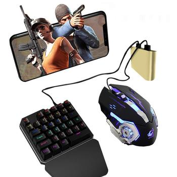 powkiddy bluetooth battledock converter stand docking for fps games using with keyboard and mouse game controller portable Yfashion PUBG Mobile Phone Game Controller Mouse Keyboard Battledock Converter