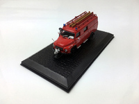 rare Special Offer 1:72 LF 8 FK 2500 Fire truck model Alloy Collection Model