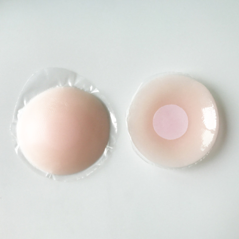 1 Pair Cool Reusable Self Adhesive Silicone Lift Up Breast Nipple Cover Bra Pad Invisible Breast Petals For Party Dress