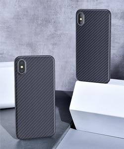 Image 5 - Custodia protettiva di lusso in vera fibra di carbonio 3D Kevlar 0.6mm sottile sottile per fotocamera sportiva custodia protettiva per iPhone X XS XR XSMAX