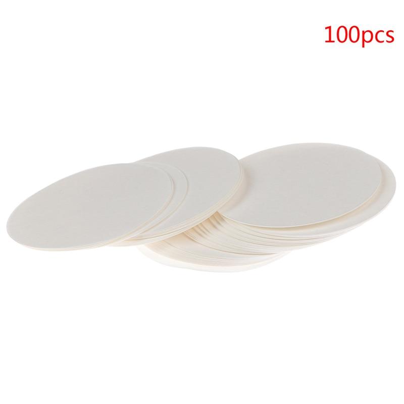 100pcs 7cm Laboratory Qualitative Filter Paper Circular Speed Fast Filter Funnel Filter Paper
