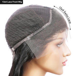 Image 5 - EVA Hair 13x4 ลูกไม้ด้านหน้ามนุษย์ Wigs Pre Plucked กับผมเด็กบราซิล CURLY Lace ด้านหน้า Wigs ผู้หญิงสีดำ Remy ผม
