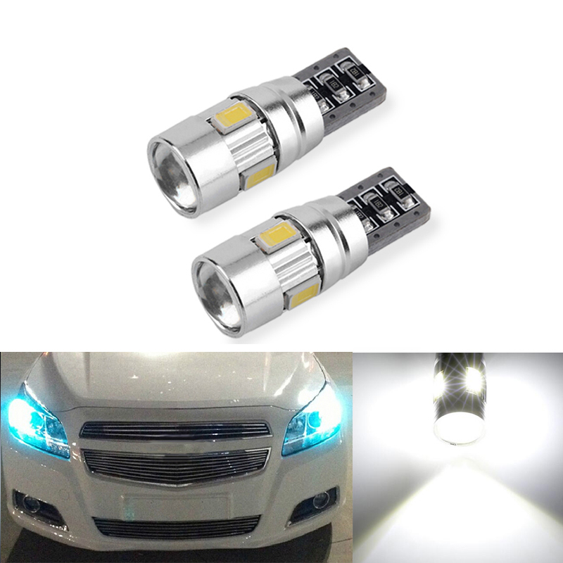 2x Canbus Car Wedge Light W5W T10 LED 5630 SMD Auto Lamp Bulb For Chevrolet Cruze Aveo Captiva Lacetti Sail Sonic Camaro image