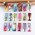 10x25 мм Прямоугольный Стеклянный кабошон с плоским основанием для фотографий с изображением деревьев жизни, 10 шт.