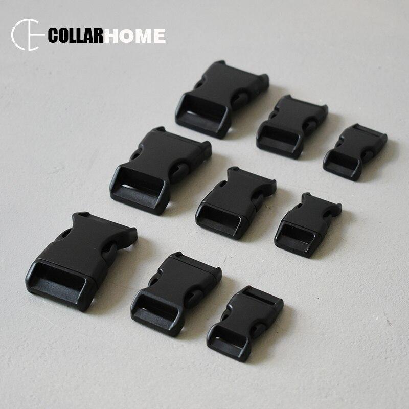 Hebilla de plástico de liberación rápida hebillas Correas Ajustables 20mm 25mm 32mm 38mm 50mm