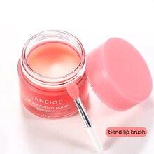 20g Korea Berry Lip Sleeping Mask Night Sleep ซ่อมบำรุงลิปสติกสีชมพูริมฝีปาก Bleaching Cream Lip Balm ปกป้องดูแลริมฝีปาก
