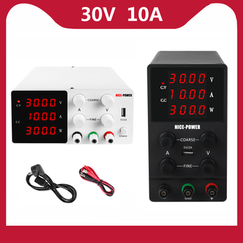 New 30v 10a Digital Adjustable Power Supply, 60V 10A DC Power Supply is Suitable For Mobile Phone Repair Laboratory Power Supply image