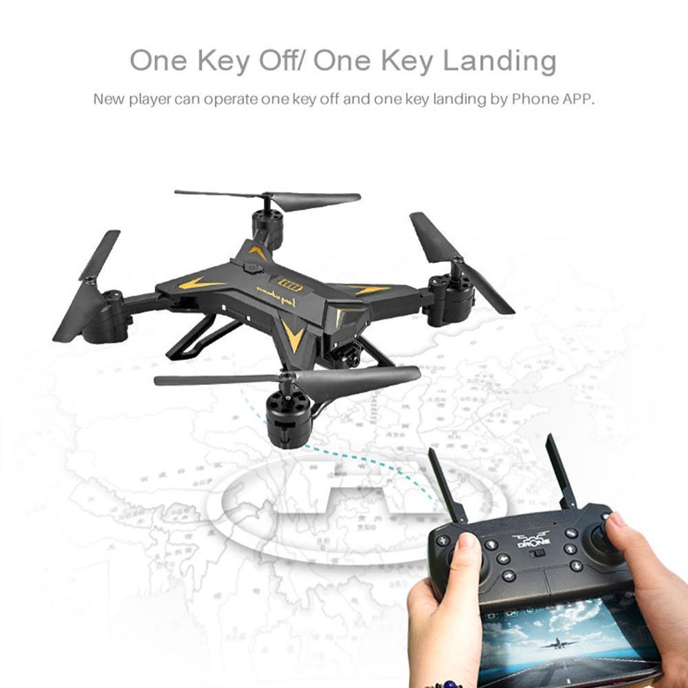 Foldable Quadcopter Professional Drone Remote Control High RC Wifi Quadcopter Distance Timely Transmission FPV RC Quality D F6W9