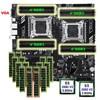 HUANANZHI X79-16D scheda madre fascio dual CPU Intel Xeon E5 2680 V2 di memoria 512G (16*32G) RECC sconto scheda madre con porta VGA