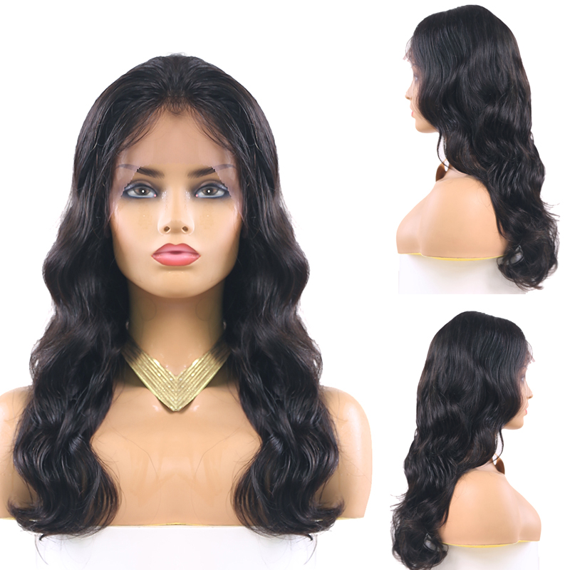 13x4 Lace Front Human Hair Wigs Pre Plucked Brazilian Body Wave Remy Lace Front Wigs For Black Women 150% Density KEMY HAIR