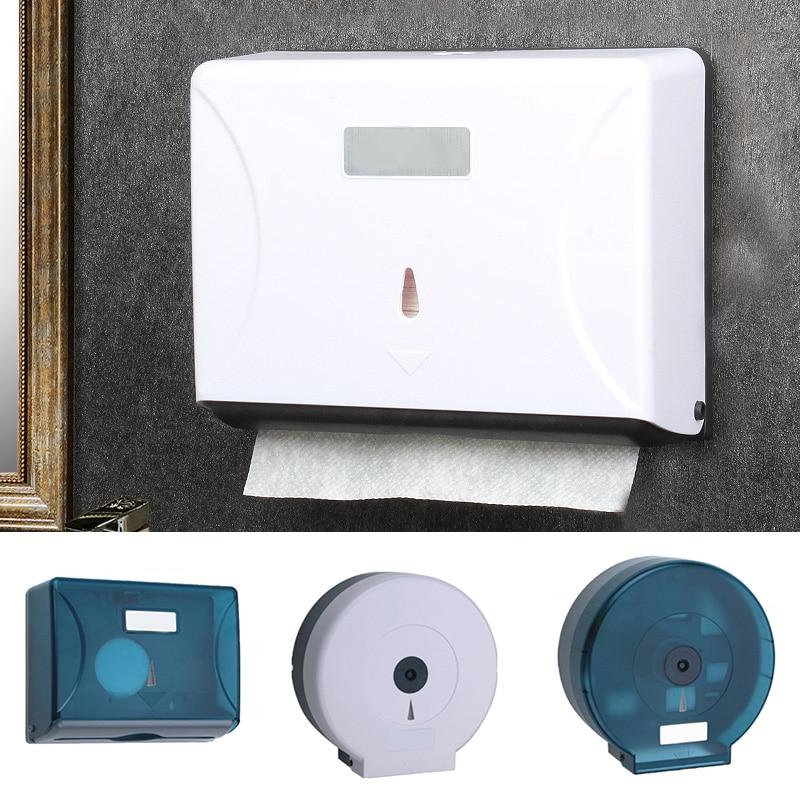 Wall-Mounted Bathroom Tissue Dispenser Paper Towel Storage Box Holder Waterproof Dustproof New LDO99