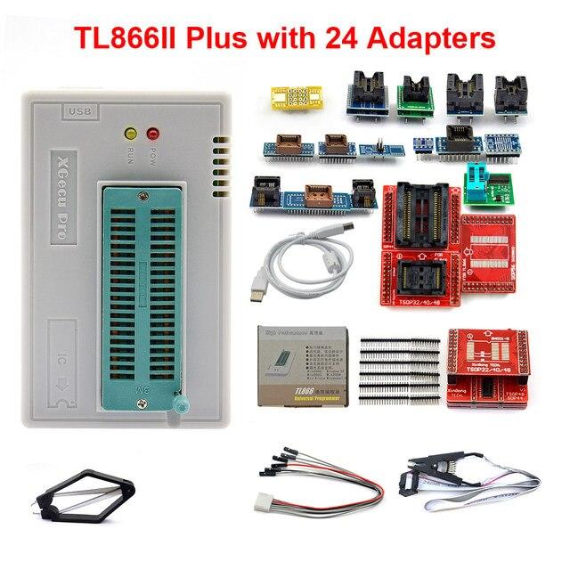100-nuevo-y-Original-programador-Minipro-Universal-V9-0-TL866II-Plus-28-adaptadores-Clip-de-prueba (8)