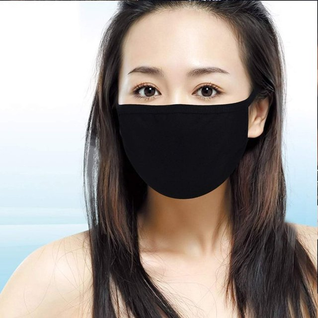1/10PCS Dust PM 2.5 Filter Face Masks Replaceable Face Mouth Cover Masks Washable Reusable Dust Masks WITH POCKET 1