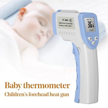 Baby Digital LCD Display Accurate Non-contact IR Infrared Forehead Thermometer