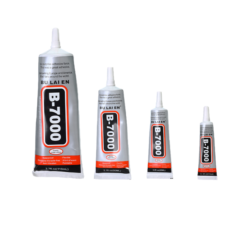15ml 25ml 50ml 110ml B7000 Glue Industrial Strength Super Adhesive Clear Liquid Glue Crafts Pearl Rhinestones DIY Jewelry Making
