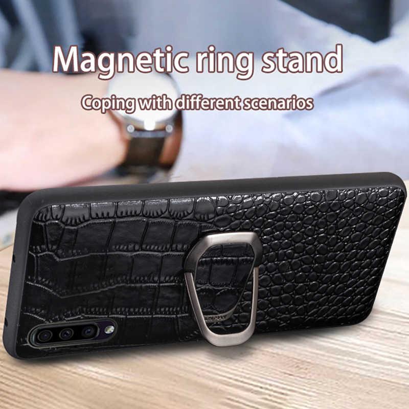 Deri telefon kılıfı için Samsung Galaxy S20 Ultra S10 S10e S8 S9 S7 kenar not 8 9 10 20 artı a10 A20 A30 A40 A50 A70 A51 A71 kapak