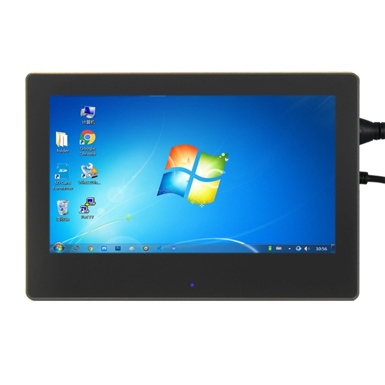 7 cal Raspberry Pi 3 dotykowy ekran 1024*600 wyświetlacz LCD dla Raspberry Pi 3 Model B interfejs hdmi wyświetlacz tft