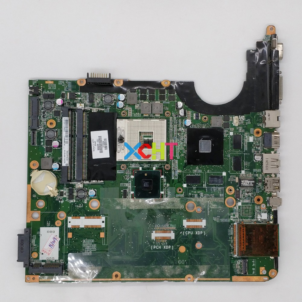 For HP Pavilion DV7 DV7-3000 Series 605698-001 DA0UP6MB6F0 GT320M 1GB PM55 Laptop Motherboard Mainboard Tested & Working Perfect