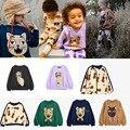 Радиоуправляемый мини-Детская толстовка с капюшоном и длинными рукавами, футболки для маленьких мальчиков и девочек Повседневный Топ с рис...